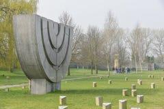 Cemetery at Terezin memorial Royalty Free Stock Photos