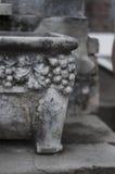 Cemetery Urn Stock Photo