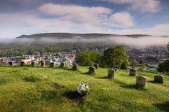 Cemetery Veteran Soldiers Ring Pennsylvania stock image