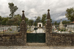 Cemetery of Vilar Stock Photography