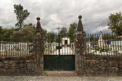 Cemetery of Vilar Stock Photography