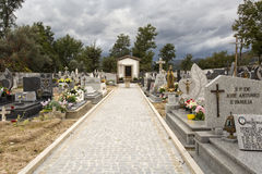 Cemetery of Vilar Royalty Free Stock Image