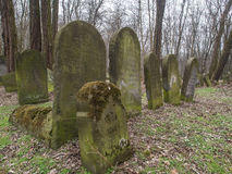 Cemetery. Warsaw, Poland - March 20, 2016: The Jewish Cemetery on Okopowa Street in Warsaw Stock Photo