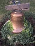 Cemetery. Woodland Cemetery bell Royalty Free Stock Photos
