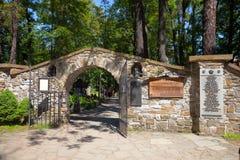 Cemetery in Zakopane Royalty Free Stock Images