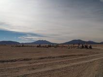 Cemetry nel Altiplano, Bolivia immagine stock libera da diritti