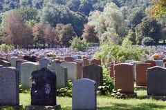 Cemitério. Foto de Stock Royalty Free