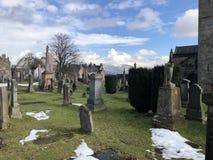 Cemitério foto de stock royalty free