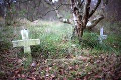 Cemitério 2 foto de stock royalty free