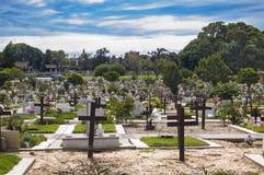 Cemitério Foto de Stock