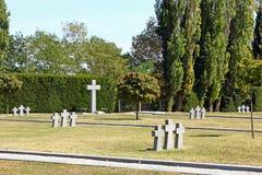 Cemitério alemão fotos de stock royalty free