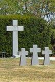 Cemitério alemão em Zagreb imagem de stock royalty free