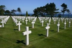 Cemitério americano Fotos de Stock