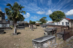 Cemitério antigo fotos de stock