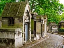 Cemitério antigo Paris Fotografia de Stock