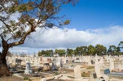 Cemitério australiano fotografia de stock royalty free