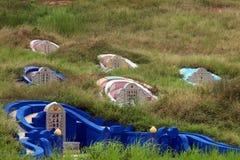 Cemitério chinês imagens de stock