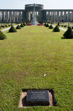 Cemitério da guerra de Taukkyan, Yangon, Myanmar Fotografia de Stock Royalty Free