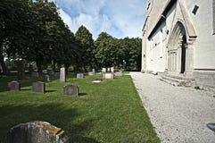 Cemitério da igreja imagem de stock royalty free