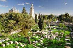 Cemitério da igreja de Dormition Fotografia de Stock