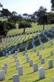 Cemitério da nação de Rosecrans do forte imagem de stock