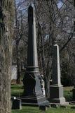 Cemitério da Verde-madeira em Brooklyn, NY Imagem de Stock Royalty Free