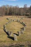 Cemitério de Anundshog Imagem de Stock Royalty Free