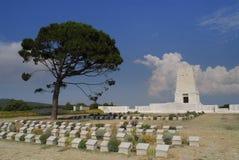 Cemitério de ANZAC foto de stock royalty free