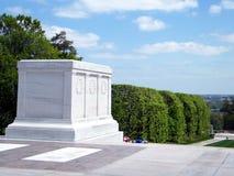 Cemitério de Arlington o túmulo do soldado desconhecido 2010 Fotografia de Stock