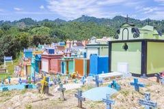 Cemitério de Chichicastenango Foto de Stock