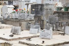 Cemitério de Cuba Imagem de Stock Royalty Free