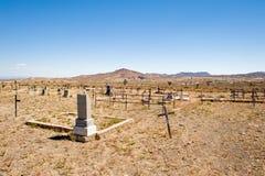 Cemitério de Goldfield em Nevada Fotografia de Stock Royalty Free