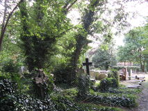 Cemitério de Highgate, Reino Unido Fotografia de Stock