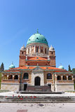 Cemitério de Mirogoj, Zagreb fotografia de stock royalty free
