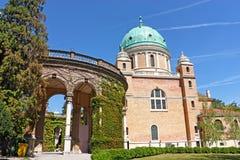 Cemitério de Mirogoj, Zagreb fotos de stock royalty free