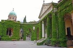 Cemitério de Mirogoj, Zagreb fotos de stock