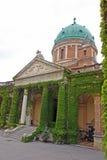 Cemitério de Mirogoj, Zagreb imagem de stock