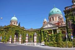 Cemitério de Mirogoj, Zagreb foto de stock royalty free