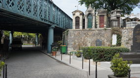 Cemitério de Montmartre, Paris, França Imagem de Stock