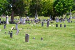 Cemitério de naufrágio da mola, Abington, Virgínia imagens de stock