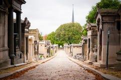 Cemitério de Pere-lachaise, Paris, foto de stock royalty free