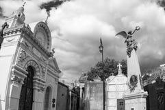 Cemitério de Recoleta, Buenos Aires, Argentina Imagem de Stock
