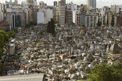 Cemitério de Recoleta, Buenos Aires, Argentina Fotos de Stock