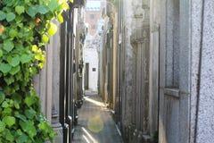 Cemitério de Recoleta do La em Buenos Aires fotos de stock