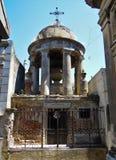 Cemitério de Recoleta do La - mausoléu velho da possibilidade remota Fotos de Stock Royalty Free