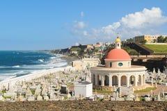 Cemitério de San Juan Fotografia de Stock