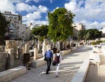 Cemitério de Trumpeldor Tel Aviv israel Foto de Stock Royalty Free