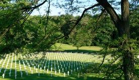Cemitério de WWII Fotografia de Stock Royalty Free
