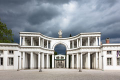Cemitério de Zale Central, Ljubljana, Eslovênia Imagens de Stock Royalty Free