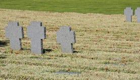 Cemitério do alemão de Maleme imagens de stock